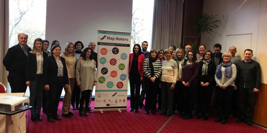 Mr. sc. Lidija Kozina u Zagrebu predstavila EU projekt HERE Map Makers