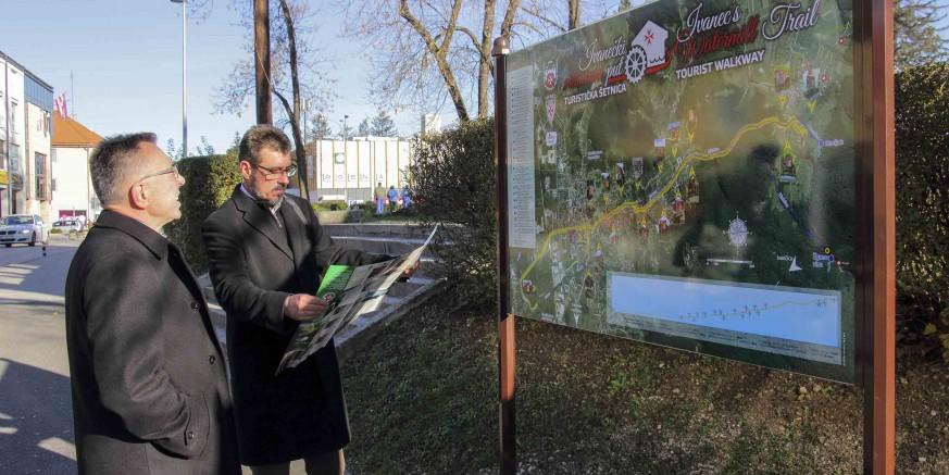 Turistička šetnica Ivanečki mlinarski put