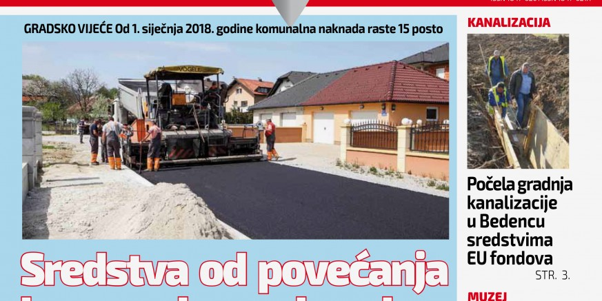 Uz 104. izdanje Ivanečkih novina, građanima stiže i poklon Grada, kalendar za 2018. godinu