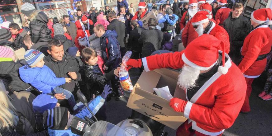 Motomrazovi stižu u Ivanec i daruju djecu na sam Badnjak, u nedjelju, 24. prosinca