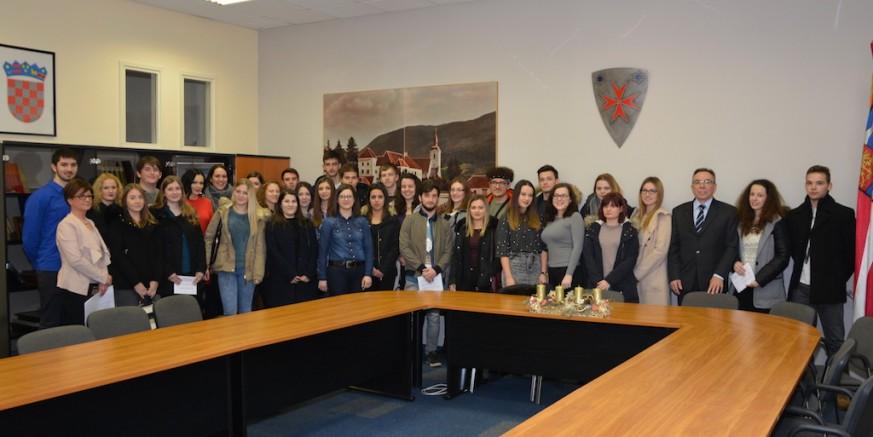 Potpisani ugovori o stipendiranju studenata u ak. godini 2017./2018.