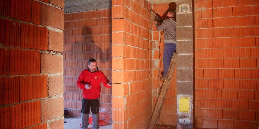 Prostor za braniteljske udruge u zgradi u Gajevoj ul. oprema se električnim, telefonskim i IT instalacijama