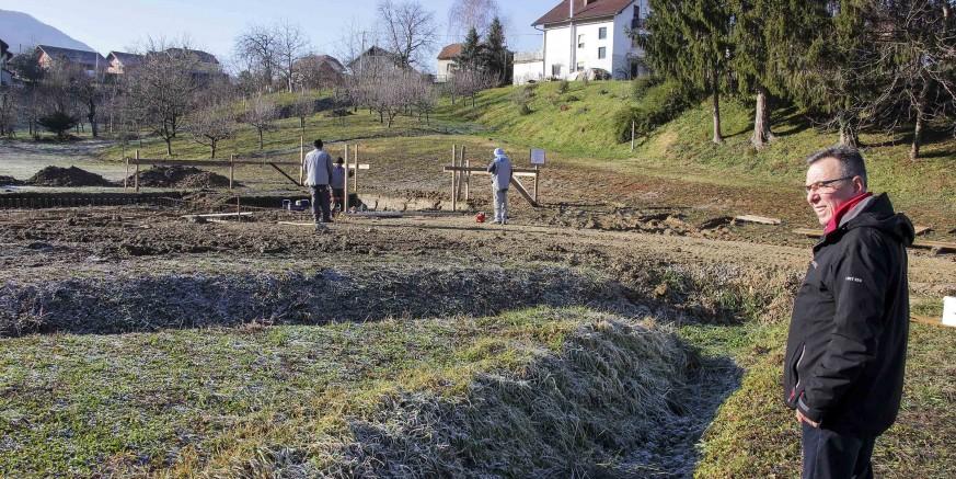 Položeni temelji budućeg društvenog doma za mjesne odbore Vuglovec i Gečkovec