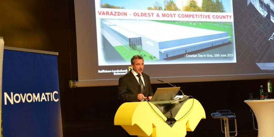 Grad Ivanec Dan Hrvatske u Grazu iskoristio za kontakte o proširenju suradnje s Hrvatsko – austrijskom trgovinskom komorom
