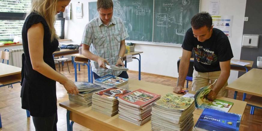 Besplatni udžbenici za sve učenike – u ponedjeljak prikupljanje i razmjena knjiga u Osnovnoj školi Ivanec