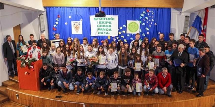 Proglašeni su najbolji sportaši i sportske ekipe grada Ivanca za 2014. godinu
