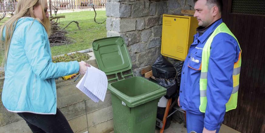 U Ivancu u petak završava čipiranje zelenih spremnika