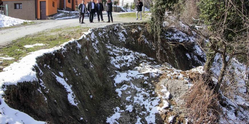 Elementarna nepogoda: Građani, do  17. travnja prijavite štete od odrona zemlje