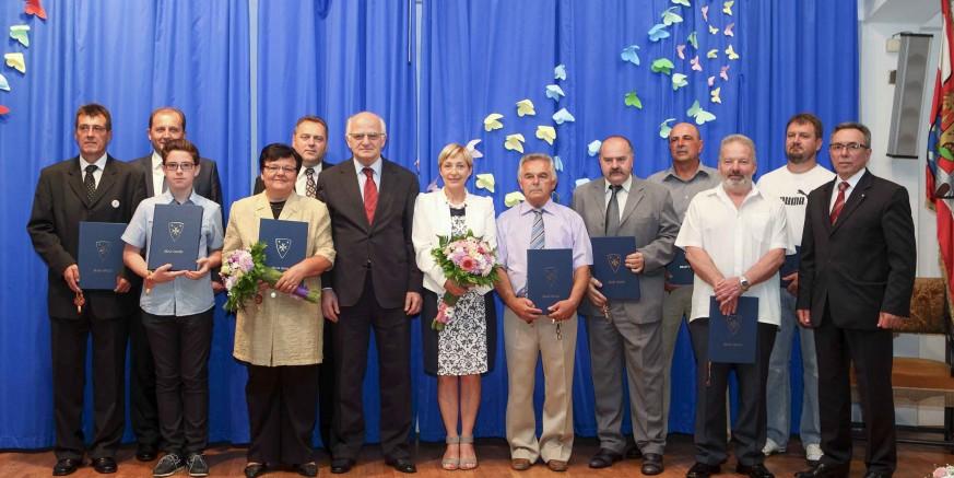 Predsjednik Sabora Josip Leko na svečanoj sjednici Gradskog vijeća u povodu proslave Dana grada Ivanca