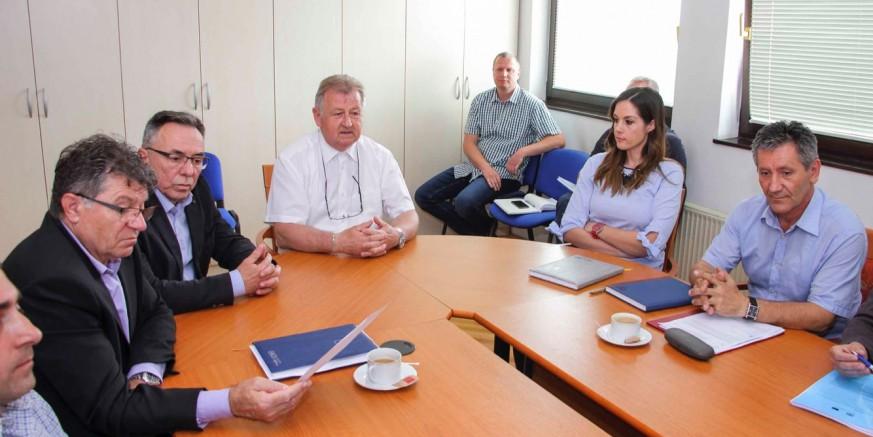 AGLOMERACIJA IVANEC: Predstavnici Ministarstva zaštite okoliša i energetike i Hrvatskih voda u Ivancu