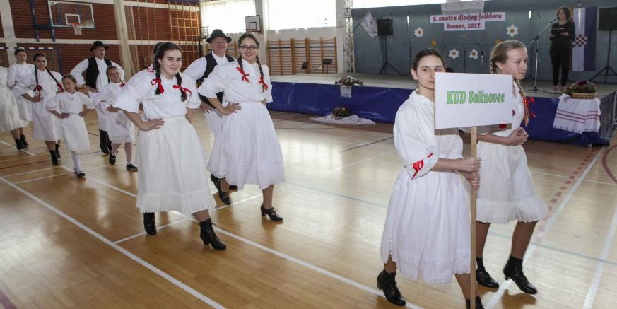 Međunarodna smotra dječjeg folklora u Ivancu u subotu, 5. svibnja