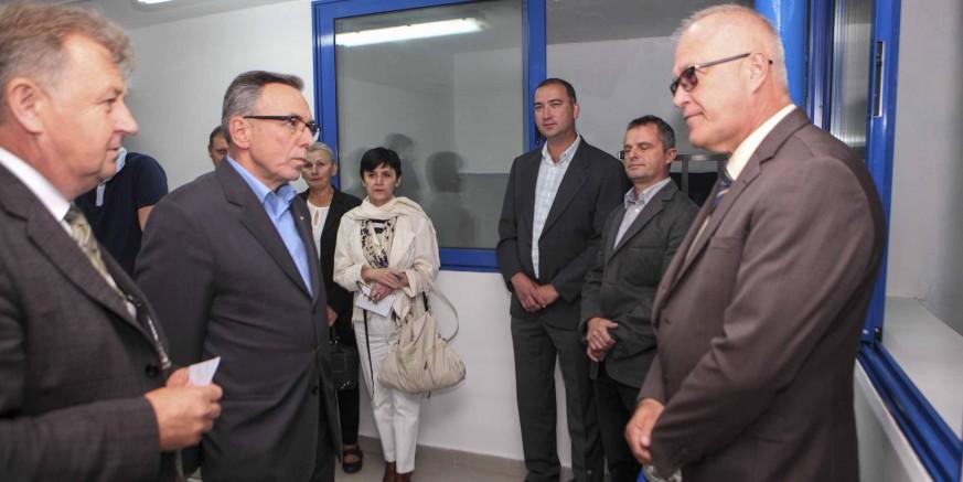 Generalni direktor Hrvatskih voda Ivica Plišić otvorio vodoopskrbne objekte vrijedne 5,66 milijuna kuna