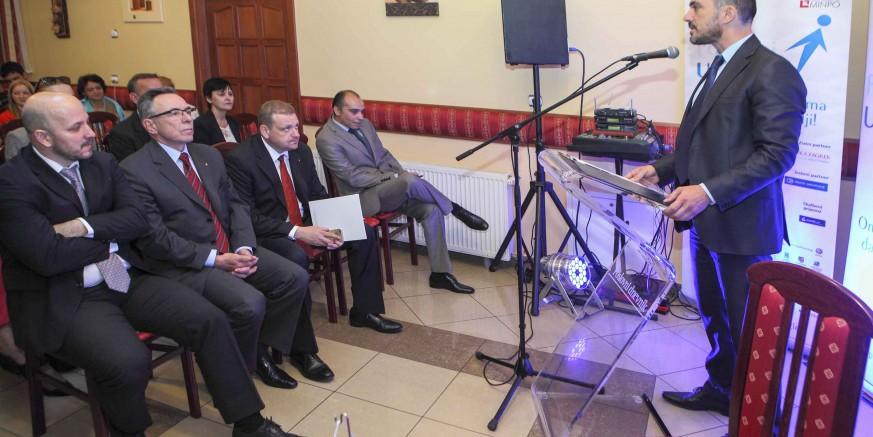 Ministar poduzetništva i obrta Gordan Maras na Poslovnom uzletu Ivanec 2015.