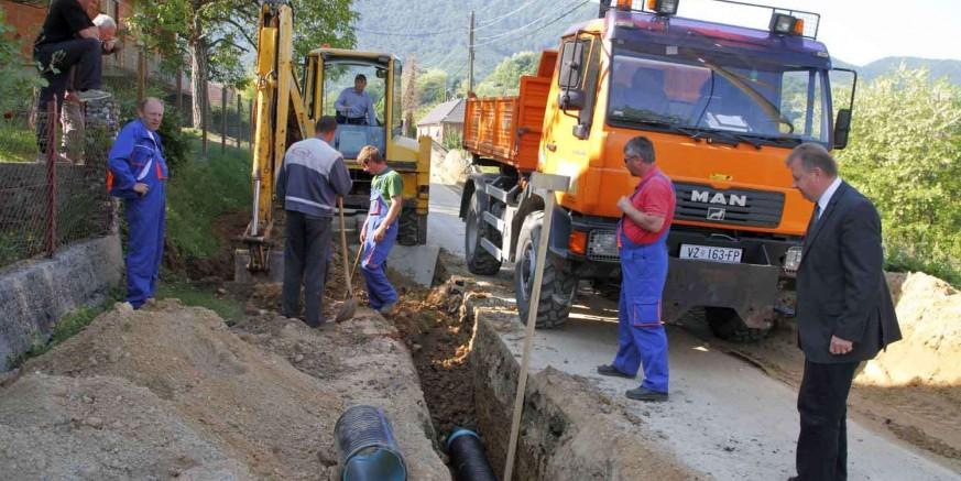 Počinje rekonstrukcija vodovodne mreže u 6 ivanečkih ulica, radovi vrijedni 1,12 mil. kuna