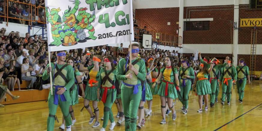 U utorak, 22. svibnja, glazbeno-scenski program 129 maturanata Srednje škole Ivanec