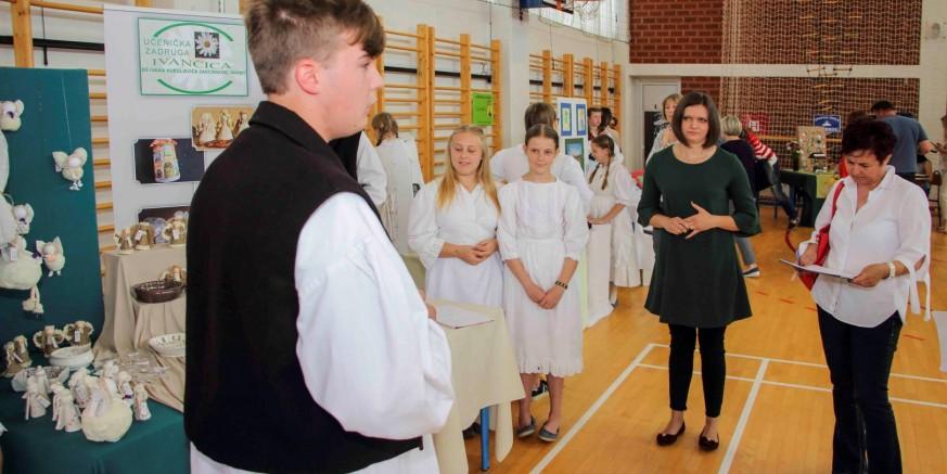 U Ivancu održana 22. smotra učeničkog zadrugarstva Varaždinske županije
