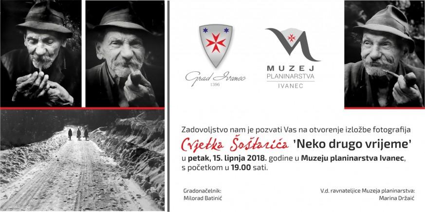 U petak, 15. lipnja, izložba fotografija Cvjetka Šoštarića u Muzeju planinarstva Ivanec