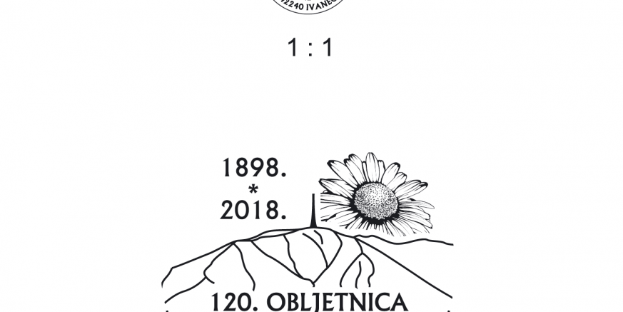 Prigodni poštanski žig 120 obljetnica planinarstva.png