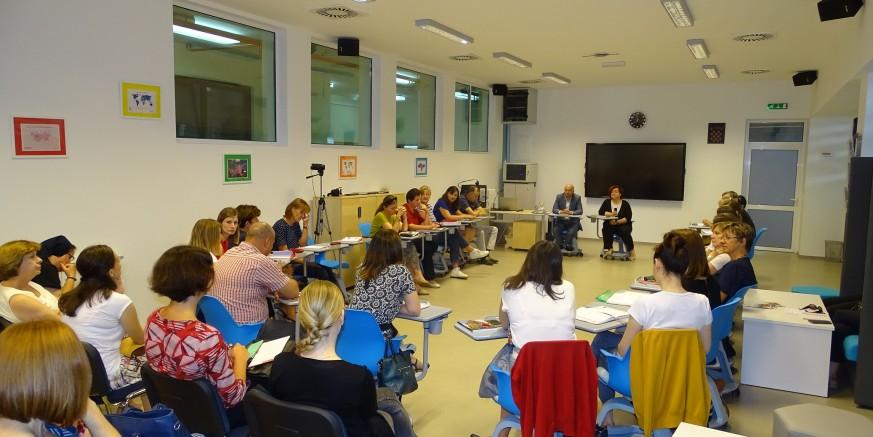 Pomoćnica ministrice L. Kralj u Srednjoj školi Ivanec: Od jeseni eksperimentalna kurikularna reforma