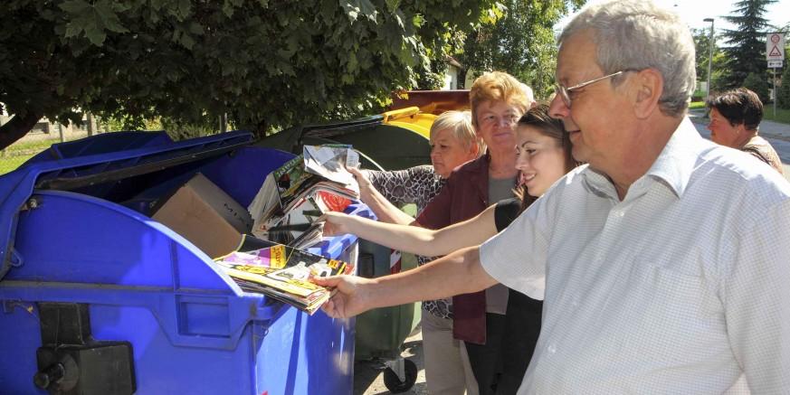 Gradu Ivancu 285.143 kn iz EU fondova za educiranje građana o održivom gospodarenju otpadom
