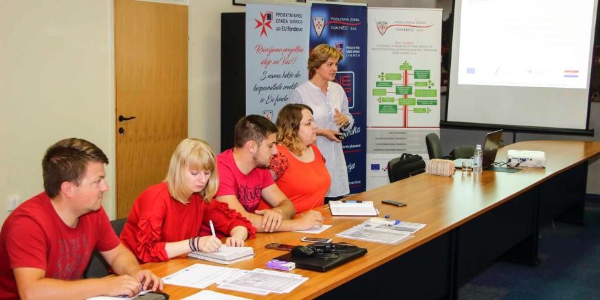 Poslovna zona: U sklopu EU projekta vrijednog 522.957,53 knodržana prva edukacija za poduzetnike početnike