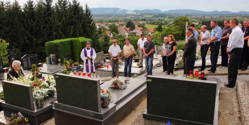 Molitvom obilježena godišnjica pogibelji branitelja Željka Putara - Grdaka