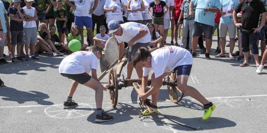 34. seoske igre starih sportova u Salinovcu
