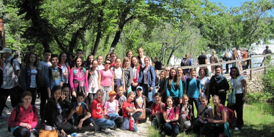Grad Ivanec darovao izlet u NP Krka sudionicima državnih natjecanja i njihovim mentorima