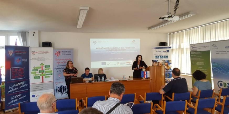 Projektni ured Grada Ivanca u HGK Varaždin održao savjetovanje za poduzetnike
