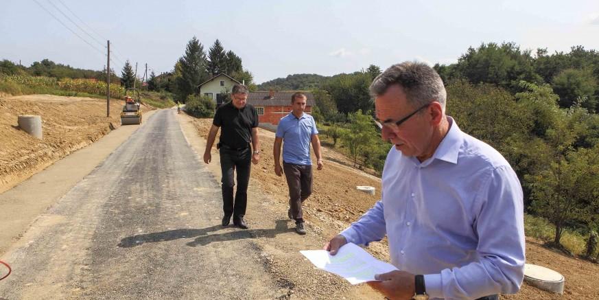 Završena sanacija klizišta u MO-u Gačice financirana s 430.000 kuna potpore Ministarstva graditeljstva
