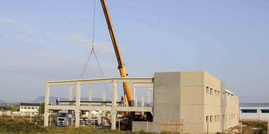 Tvrtka GPT Đurasek gradi novi pogon u Poslovnoj zoni Ivanec – hala u funkciji još ove godine