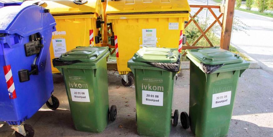 Na području grada Ivanca počelo odvajanje miješanog i biorazgradivog komunalnog otpada