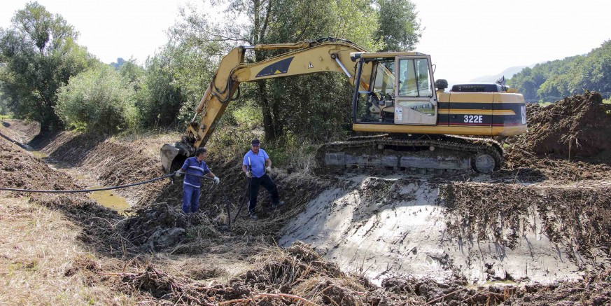 Uređuju se problematični vodotoci, u planu radovi na ivanečkoj Bistrici i potoku Bitoševlje