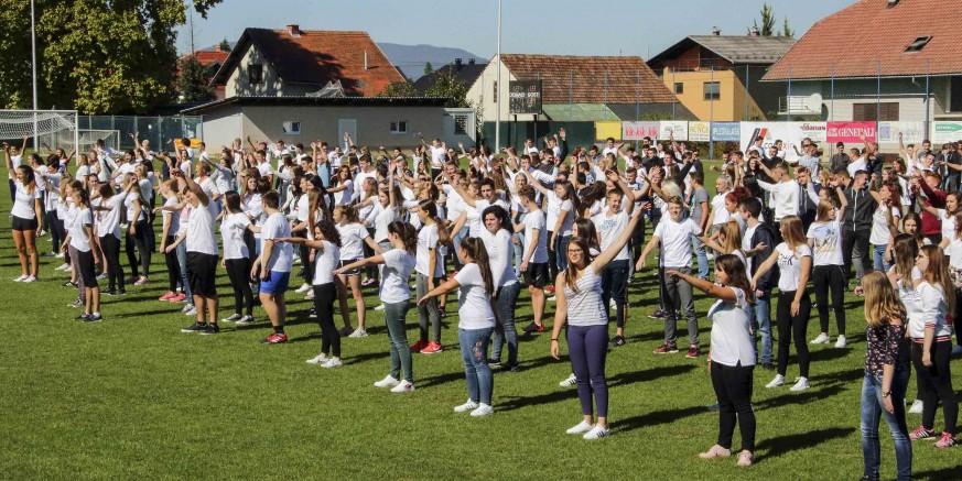 Ivanečki srednjoškolci provježbali i zaplesali uz Europski školski sportski dan