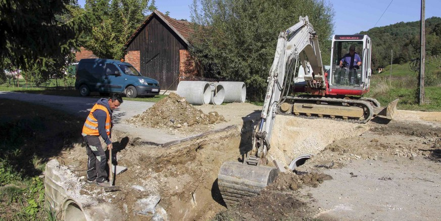 Radi sprečavanja poplavljivanja: Novi radovi na uređenju oborinske odvodnje – dosad uloženo gotovo 600.000 kn