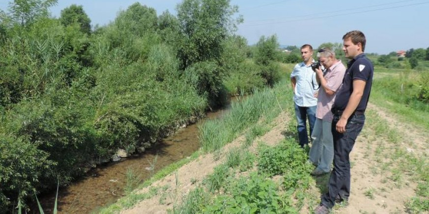 Obavljen pregled i kontrola potoka Ivanuševca i Bistrice te rijeke Bednje