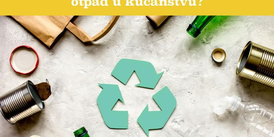 """U sklopu EU projekta Grad Ivanec tiskao letak """"Kako pravilno odvajati otpad u kućanstvu?"""""""