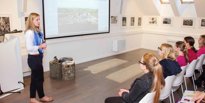 UZ MEĐUNARODNI DAN ARHEOLOGIJE Mladi arheolozi u Muzeju planinarstva Ivanec