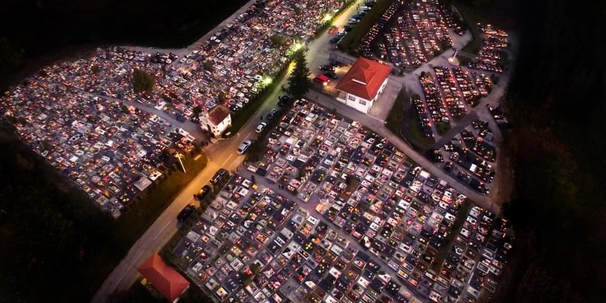 Obavijest o regulaciji prometa prema groblju u Ivancu na Sve svete