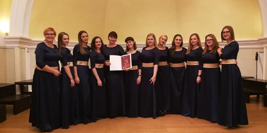 Vokalnom ansamblu Sakcinski peto uzastopno zlato na državnom susretu u Sisku!