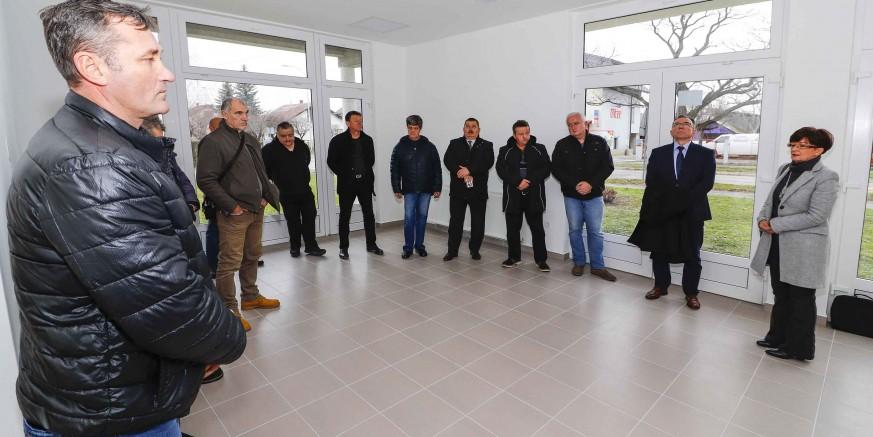 Grad Ivanec braniteljskim udrugama predao novouređene prostore za rad u Gajevoj ulici