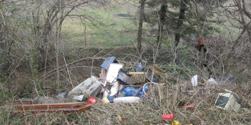 Prijavite počinitelja koji je na putu prema Kraševskim zvirima istovario krupni otpad