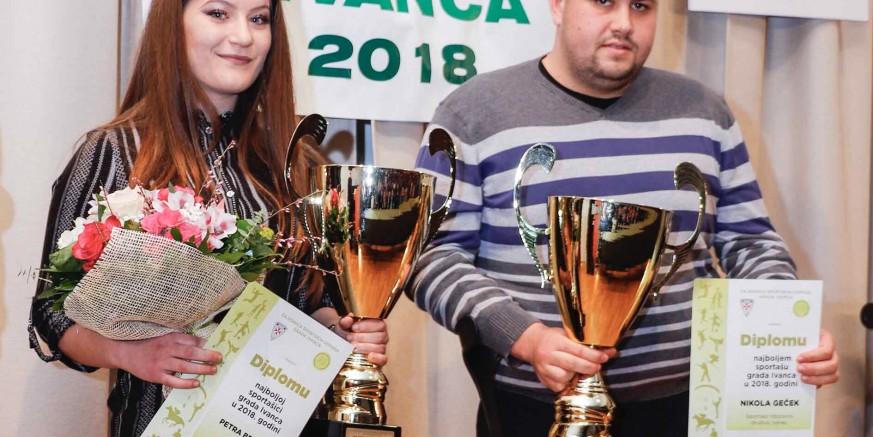 Proglašeni najbolji sportaši i ekipe grada Ivanca u 2018.