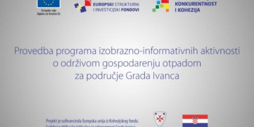 Danas i u četvrtak na VTV-u 4. tematska emisija o održivom gospodarenju otpadom na području grada Ivanca