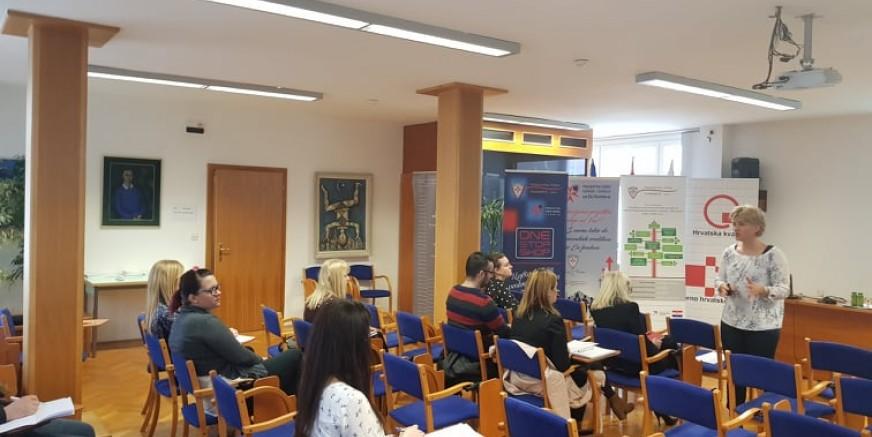 U sklopu EU projekta Poslovne zone Ivanec d.o.o. u HGK Varaždin održana dvodnevna edukacija na temu Poslovno planiranje