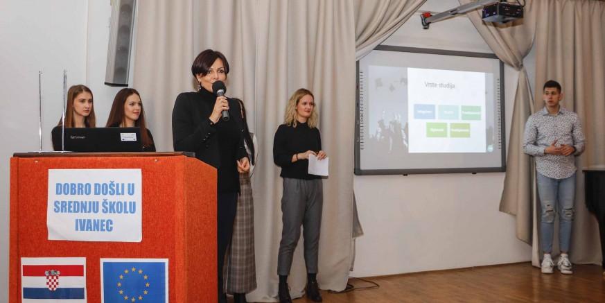 Sjajan projekt Kluba mladih Ivanec: Srednjoškolcima predstavili fakultete i studentski život