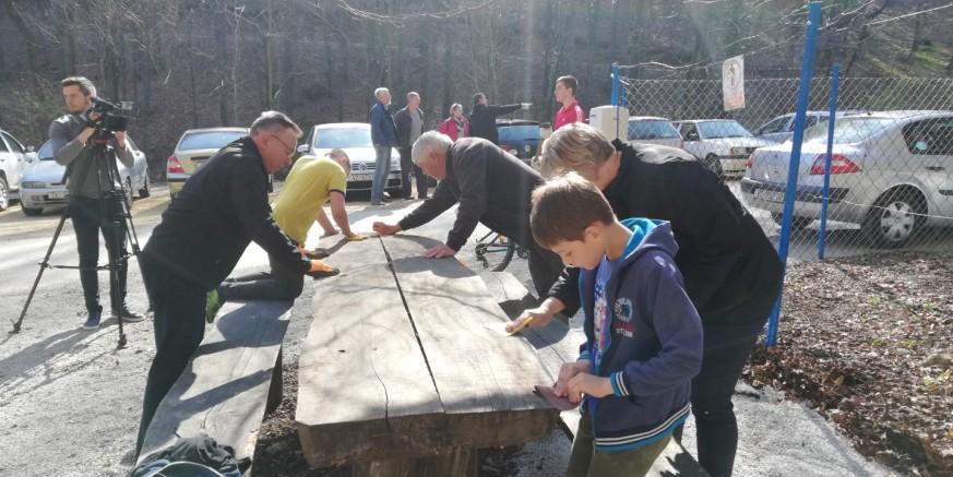 U suradnji Grada, Ivkom voda i mještana Prigorca provedena akcija uređenja Žganog vina