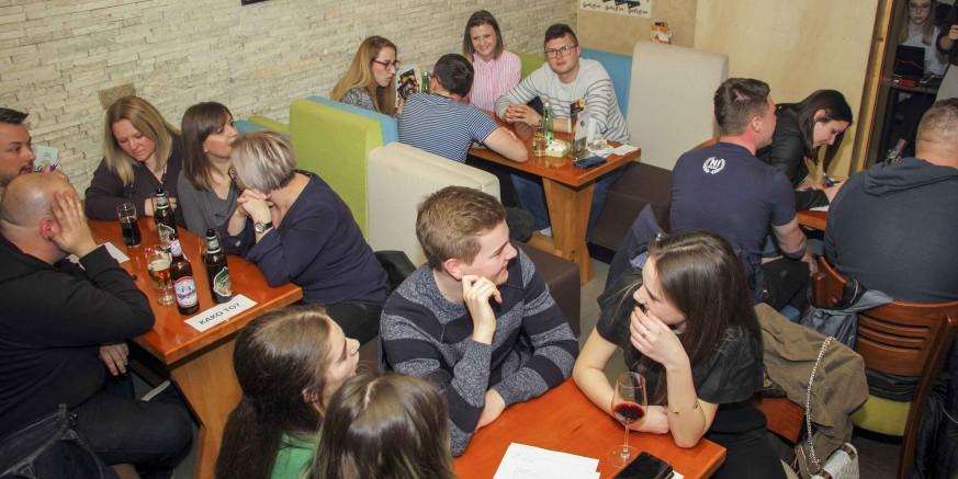 Sjajno posjećen i 4. pub quiz Kluba mladih Ivanec