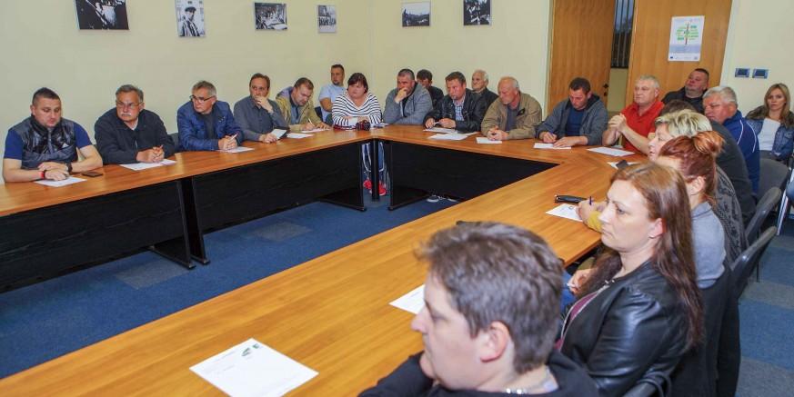 U prepunoj Gradskoj vijećnici održan koordinacijski sastanak za Zelenu čistku 13. travnja