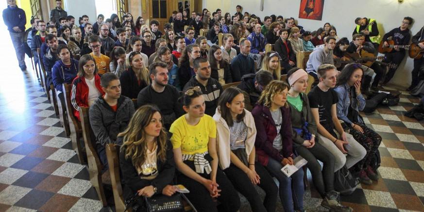 Ivanec priredio toplu dobrodošlicu za više od 200 sudionika Planinarskog križnog puta